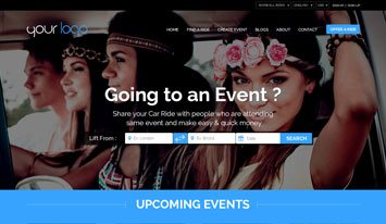 upcoming events template 4