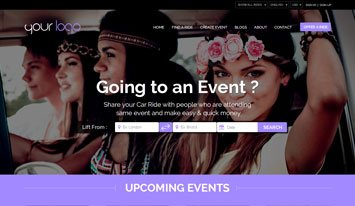 upcoming events template 5