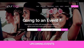 upcoming events template 6
