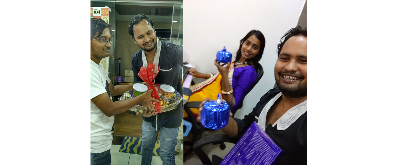 Diwali 2016 - Gifts Distribution, Celebration and Fun
