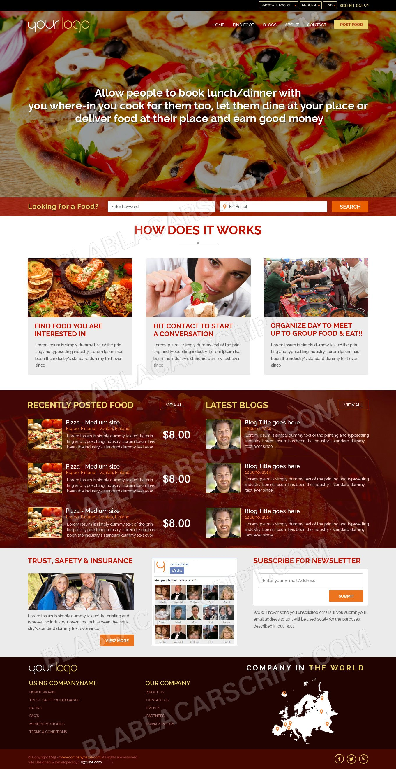 Clone Site Design Template
