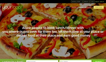 food sharing green templates