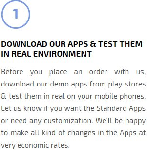 Download our apps & test them in real environment