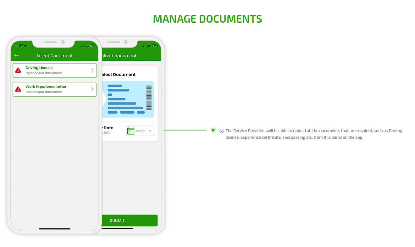 Manage documents
