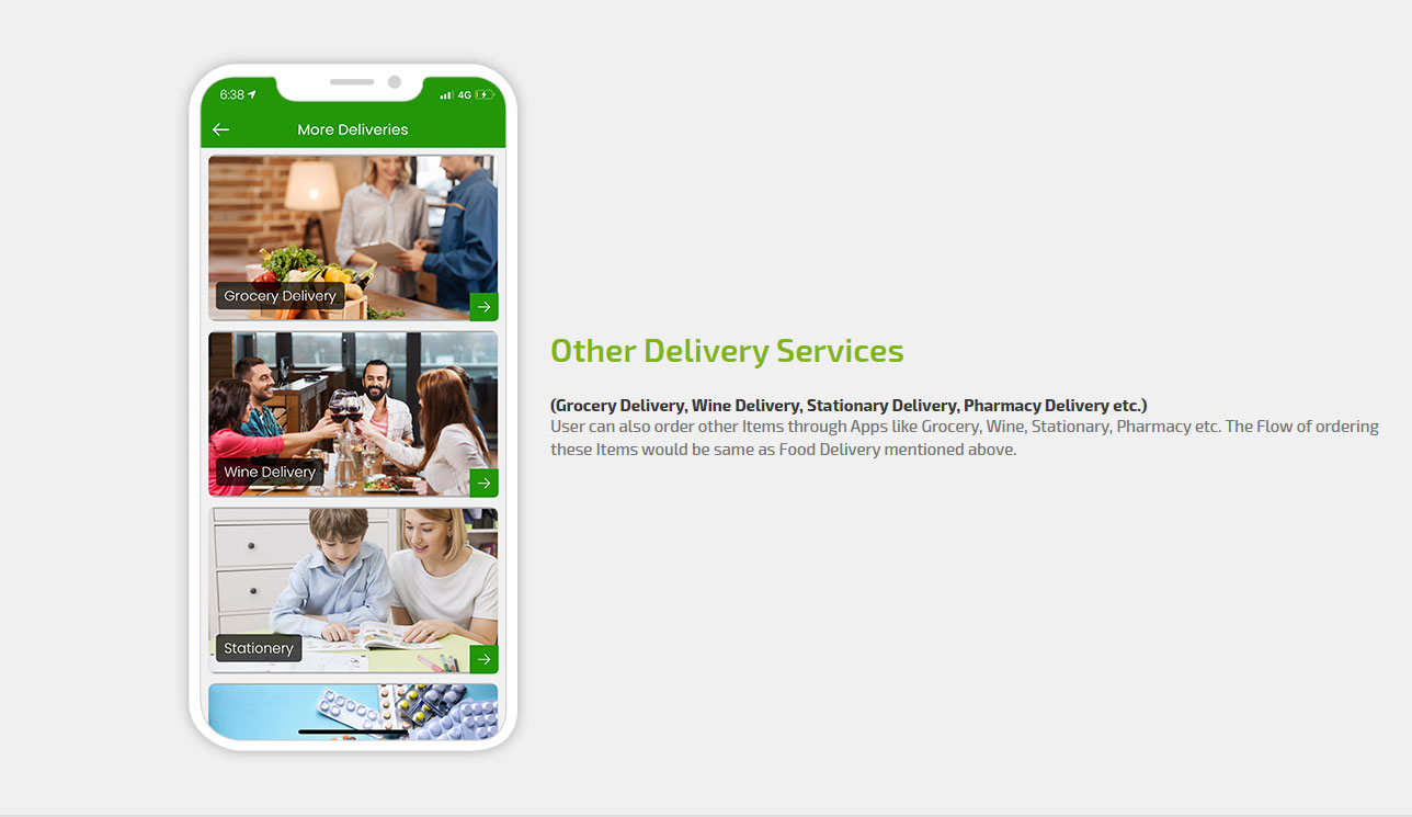 Other delivery services