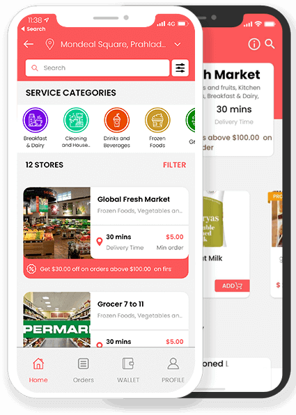 tesco groceries clone app