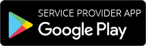Service Provider App available on Play Store