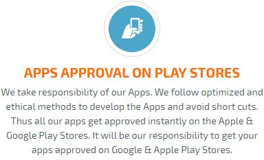 beauty apps approval on play store