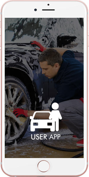 on demand car wash - user application
