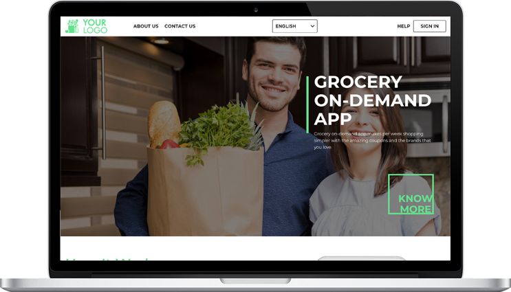 Grocery Web Panel's