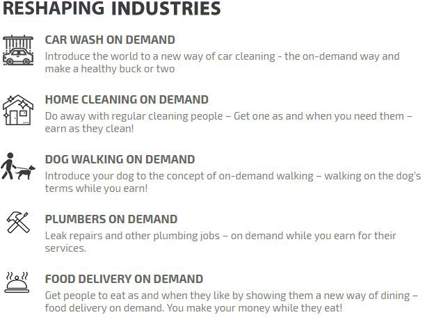 Disrupting Industries
