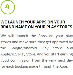 We Launch Your Apps On Your Brand Name On Your Play Stores