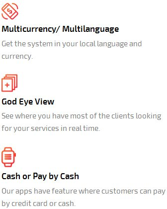multi currency, multi language, god eye view, cash or pay by cash