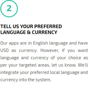 Tell Us Your preferred Language & Currency