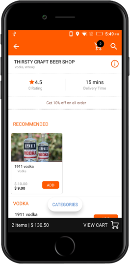 wine on demand app